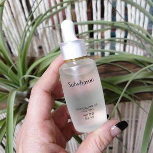 Tinh dầu dưỡng da Sulwhasoo Serenedivine Oil First Peace khắc tinh mụn ẩn, dưỡng ẩm, chống lão hóa nhẹ da