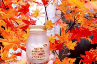 Viên uống cấp nước Han Mi Inus Aqua Collagen Capsule 62 viên (mẫu mới)