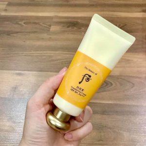 Vứt hết kem chống nắng khiến da nổi mụn, mua ngay chống nắng Whoo vàng Essential Sun Cream dịu nhẹ cho da