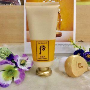 Đôi điều về Whoo Facial Foam Cleanser – Sữa Rửa Mặt Chống Lão Hoá Đông Y.